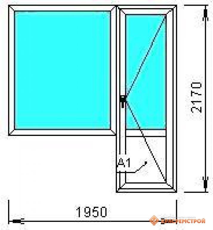 Балконный блок с глухим окном / пластиковые окна / окна / то.