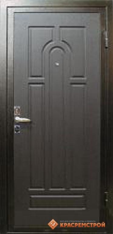 стальная дверь декор