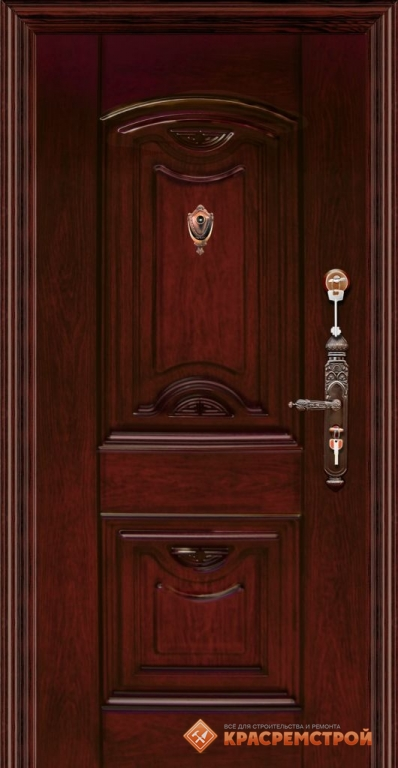 двери входные красное дерево
